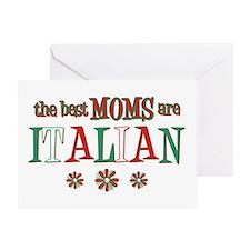 Italian Moms Greeting Card