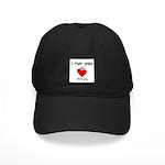 i ruv you Black Cap