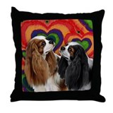 CAVALIER KING CHARLES SPANIEL DOGS Throw Pillow
