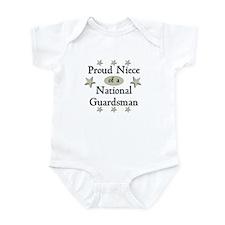 Proud Niece National Guard Infant Bodysuit