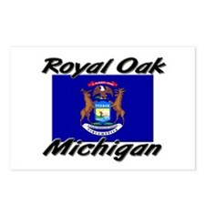 Royal Oak Michigan Postcards (Package of 8)