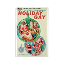 "Frig. Magnet - ""Holiday Gay"""