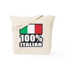 100% ITALIAN Tote Bag