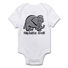 Elephants Rock! Infant Bodysuit