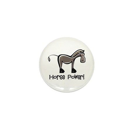 Horse Power! Mini Button (10 pack)