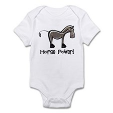 Horse Power! Infant Bodysuit