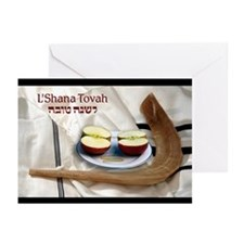 Rosh Hashanah w/ Shofar Greeting Cards (Pk of 10)