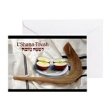 Rosh Hashanah w/ Shofar Greeting Card