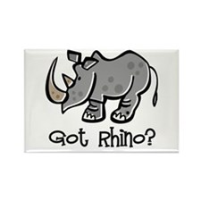 Got Rhino? Rectangle Magnet (100 pack)