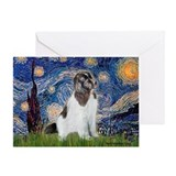 Starry Night / Landseer Greeting Card