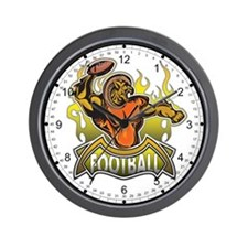 Fantasy Football Player Wall Clock
