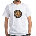 Orange County FD Pipes & Drum White T-Shirt