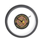 Orange County FD Pipes & Drum Wall Clock