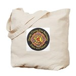 Orange County FD Pipes & Drum Tote Bag