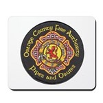 Orange County FD Pipes & Drum Mousepad