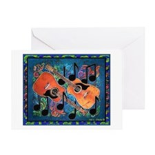 Guitar<br> Greeting Card