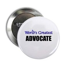 Worlds Greatest ADVOCATE Button