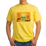 Baby Jesus Halloween Hell Yellow T-Shirt