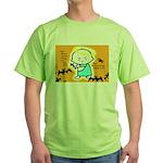 Baby Jesus Halloween Hell Green T-Shirt
