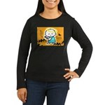 Baby Jesus Halloween Hell Women's Long Sleeve Dar
