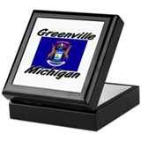 Greenville Michigan Keepsake Box