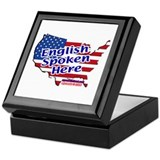 English Spoken Here Keepsake Box