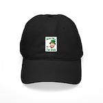 Kiss Me I'm Irish Black Cap