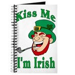 Kiss Me I'm Irish Journal