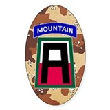 172nd Mountain Infantry Car Decal