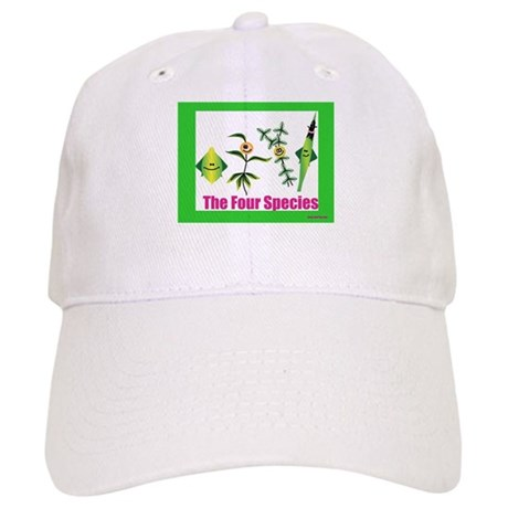 The Four Species Sukkot Cap