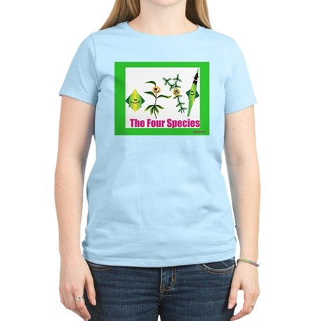 The Four Species Sukkot Women's Light T-Shirt