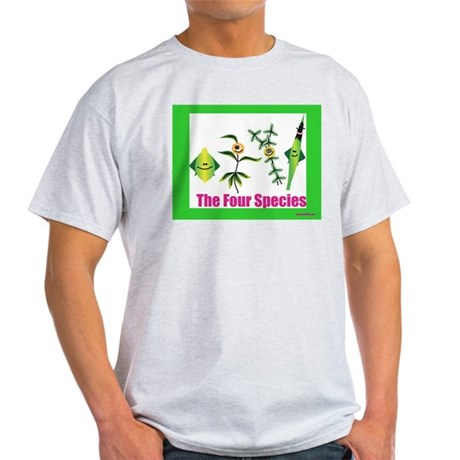 The Four Species Sukkot Light T-Shirt