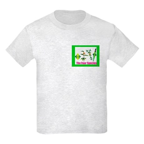 The Four Species Sukkot Kids Light T-Shirt
