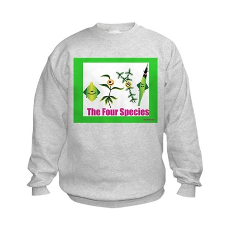 The Four Species Sukkot Kids Sweatshirt