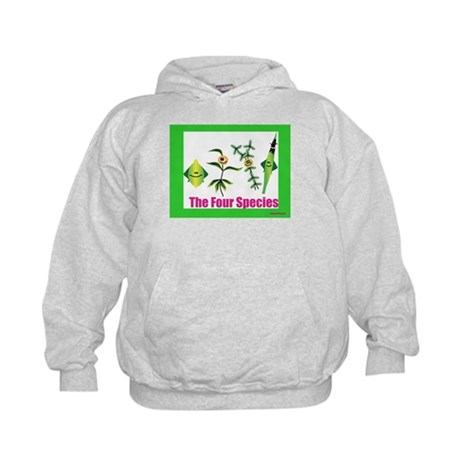 The Four Species Sukkot Kids Hoodie