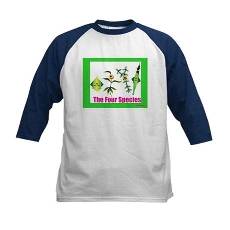 The Four Species Sukkot Kids Baseball Jersey