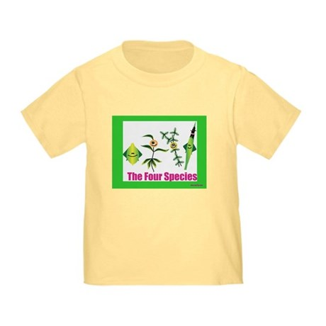 The Four Species Sukkot Toddler T-Shirt