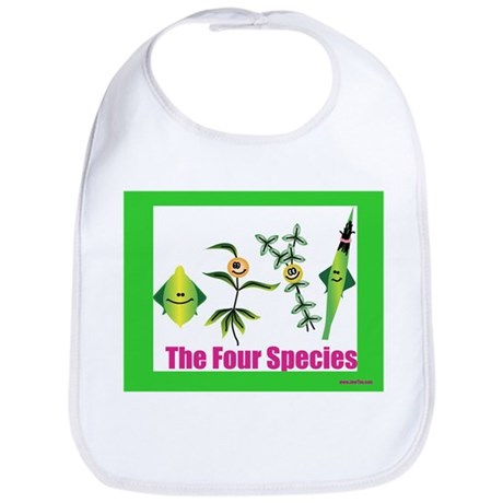 The Four Species Sukkot Bib