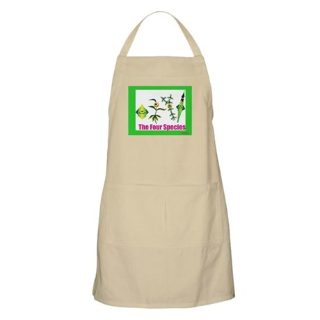 The Four Species Sukkot BBQ Apron