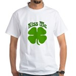Kiss Me I'm Irish White T-shirt