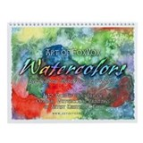 Art of FoxVox Watercolors Wall Calendar