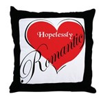 Hopelessly Romantic Throw Pillow