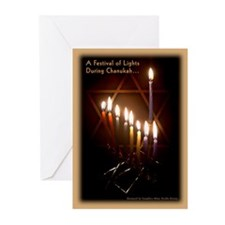 Star of David - Chanukah Greeting Cards (Pk of 20)