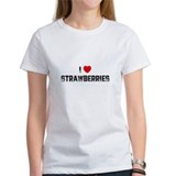 I * Strawberries Tee