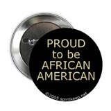 "Proud African American 2.25"" Button (100 pack)"