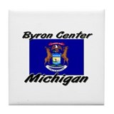 Byron Center Michigan Tile Coaster