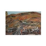 Wild West Rectangle Magnet (100 pack)