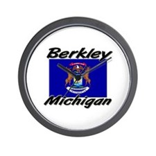 Berkley Michigan Wall Clock