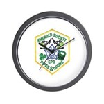 Chicago PD Pipes & Drums Wall Clock