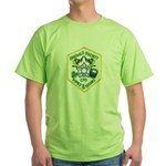 Chicago PD Pipes & Drums Green T-Shirt
